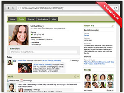 JomSocial Social Networking Plugin