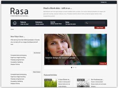 Rasa Joomla Business Template