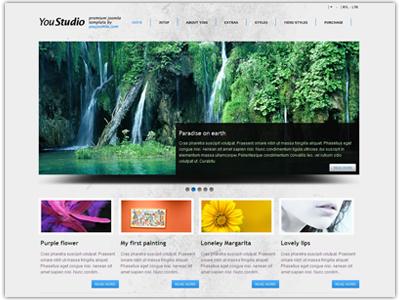 YouStudio Joomla Photographer Template