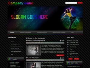 DJ Club01 Joomla Music Template