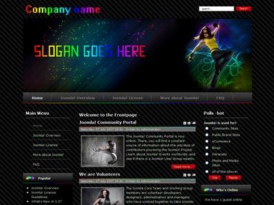 Dj Club01 Joomla Music Template