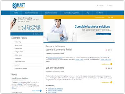 JM Business01 Joomla Template
