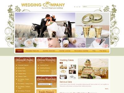 JM Wedding03 Joomla Photographs Template