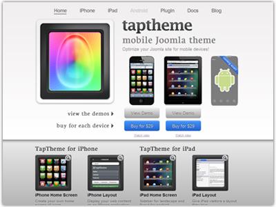 MobilePraise TapTheme Joomla Template