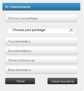 S5 Reservations Joomla Module