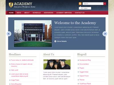 Academy WordPress Educational Theme