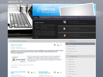 DJ Computers001 Joomla Template