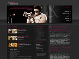 DJ Music03 Joomla Instruments Template