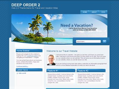Deep Order 2 WordPress Theme