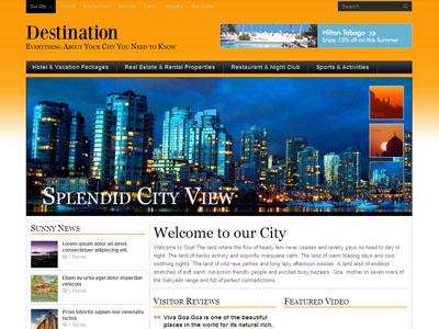 Destination WordPress City Guide Theme
