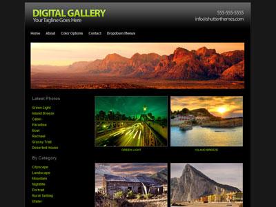 Digital Gallery WordPress Theme