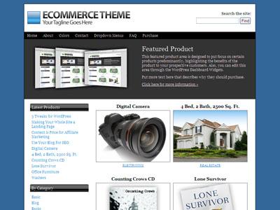 Ecommerce WordPress Online Store Theme
