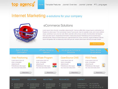 JM Internet Marketing Joomla Template for Web Marketing Companies