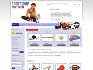 JM Sport Store Joomla Template