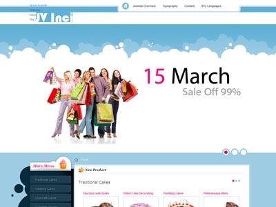 JV Inci Joomla VirtueMart Template