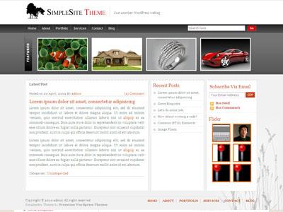 Simple Site WordPress Business Theme