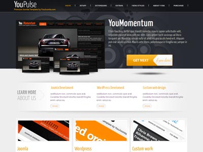 YouPulse Joomla Showcase Template