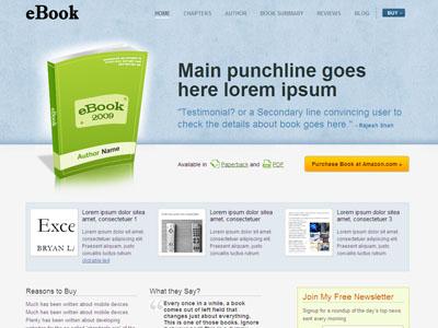 eBook WordPress Authors Theme