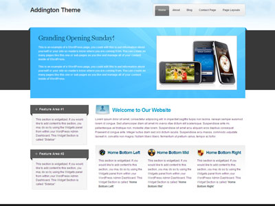 Addington Business WordPress Theme