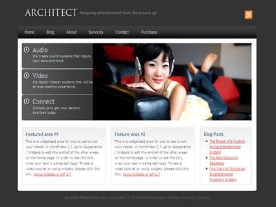 Architect Business WordPress Theme