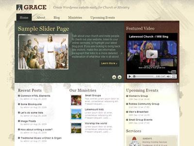 Grace WordPress Church Theme