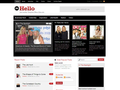 Hello WordPress Premium Magazine Theme