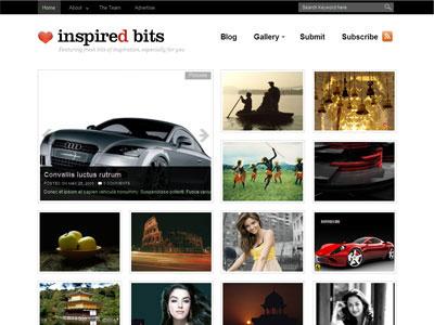 InspiredBits WordPress Photo Gallery Theme