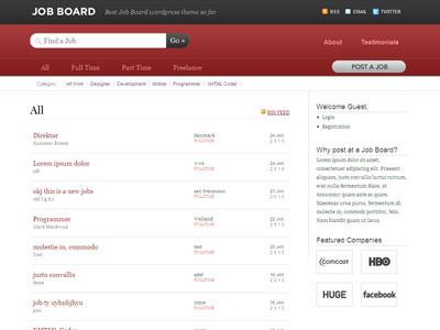 Job Board WordPress Listing Theme