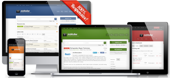 jobroller wordpress jobs portal    listing    board theme