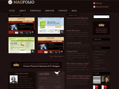 MagFolio WordPress Portfolio Theme