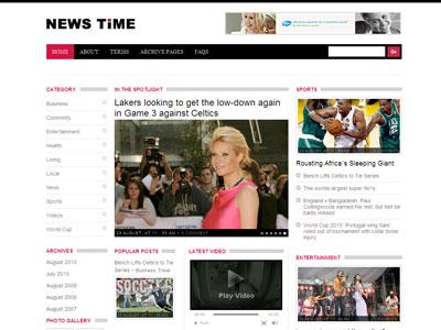 NewsTime WordPress Magazine Theme