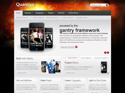 Quantive WordPress Movies Theme