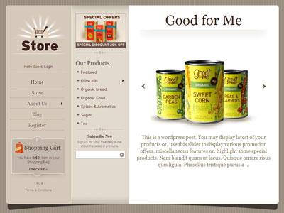 Store WordPress e-Commerce Theme