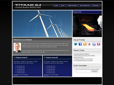 Titanium WordPress Business Theme