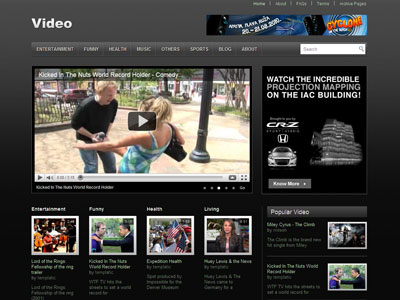 video free premium wordpress theme