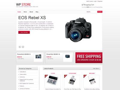 WP Store WordPress e-Commerce Theme