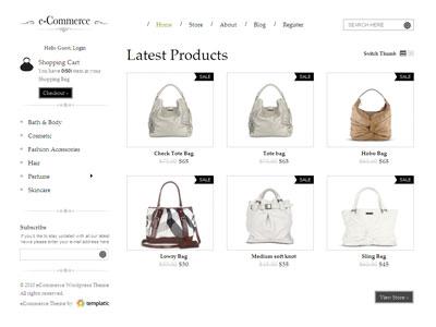 eCommerce Premium WordPress Theme
