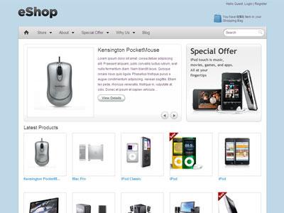 eShop WordPress e-Commerce Theme