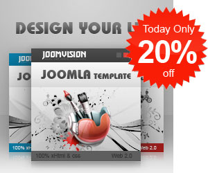 20 JoomlaVision Template Club