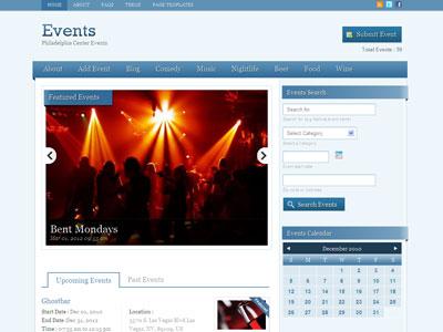 Events Wordpress Theme | Wordpress Event Listing Theme | Wordpress ...
