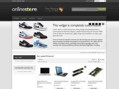 HelloClean Magento Online Store Theme