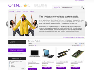 HelloSeasonal Magento Furniture Store Theme