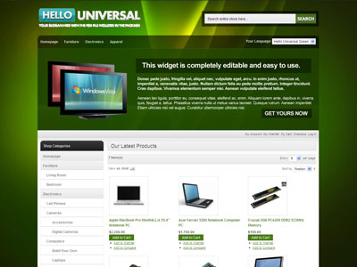 HelloUniversal Magneto Virtual Products Theme