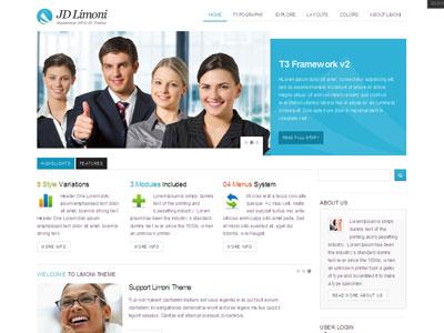 JD Limoni Drupal Business Theme
