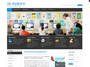 JD Purity Drupal Free Theme