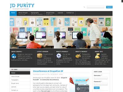 JD Purity Drupal Free Theme