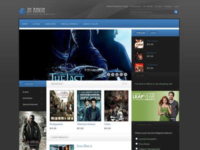 JM Anion Magento Movies Store Theme