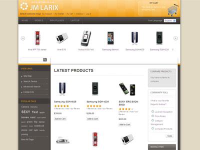JM Larix Magento e-Commerce Theme