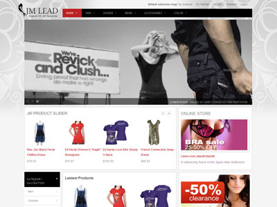 JM Lead Magento Fashion Stores Theme