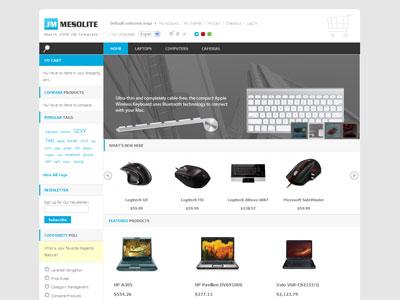 JM Mesolite Magento Digital Store Theme
